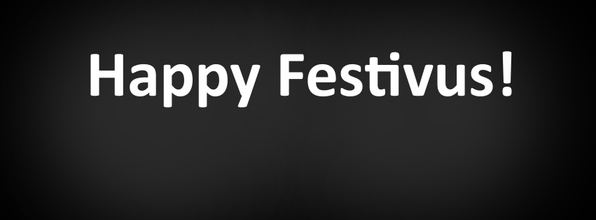 Free Facebook cover photo to celebrate the Festivus spirit