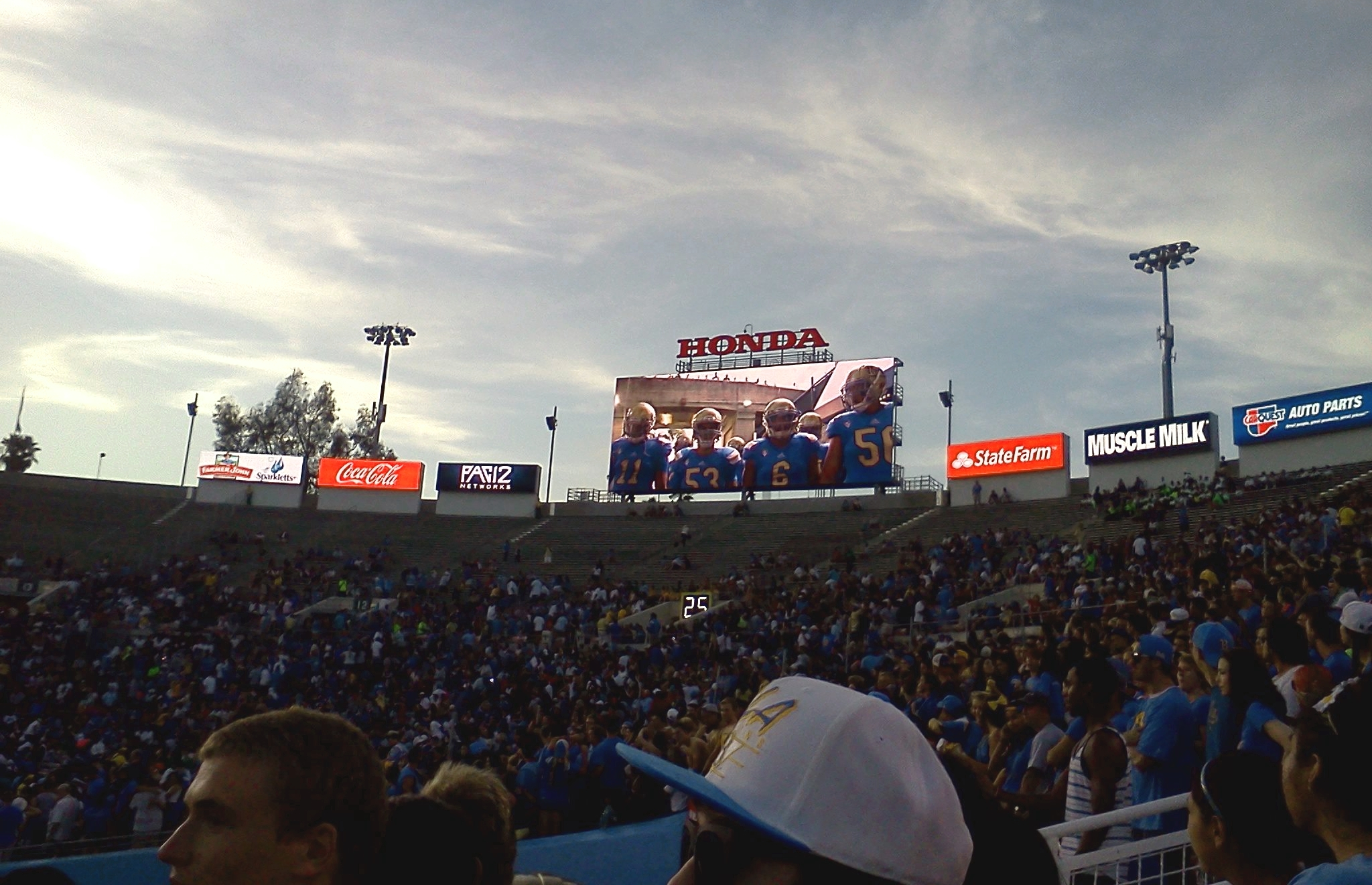 Video intro at UCLA's home opener against Nevada